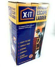 Nib X-It Emergency Escape Ladder 13 ft. Model for 2 Story Home