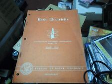 Basic Electricity-Prepared by the Bureau of Naval Personnel 1954 volume 2