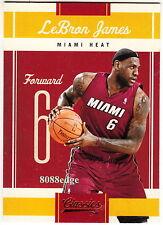 2010-11 PANINI CLASSICS BASE CARD: LeBRON JAMES #95 CAVALIERS ALL-NBA TEAM MVP