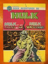 2 aventures de HULK-& les pirates de l'Air-Sème le Chaos.Artima Color Géant 9008