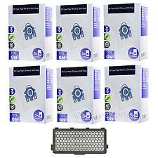 30 x 3D Tipo GN HyCLEAN SACCHETTI + HEPA Filtro per Miele Total Care 5000 vuoto