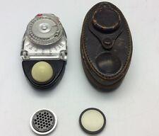 Vtg Brockway Exposure Meter Sekonic Studio Model S Ambient Light Meter Case