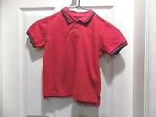 Arizona Boys polo style short sleeve top shirt Size 3T cotton red