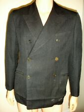 VINTAGE 1940'S DOUBLE BREASTED MOVIE COSTUME FROM COLUMBIA PICTURES STUDIO