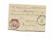 Brief aus Pfreimd nach Nürnberg