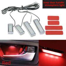 Auto Luci LED Rosso Atmosphere Interno Maniglia Bracciolo Interno Lampade