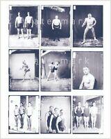 Nine vintage wrestling/physique photos. Reprint on Kodak paper. Gay interest. #3