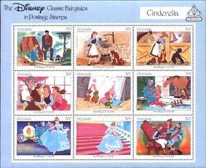 Disney by Grenada MNH Sc 1542 Cinderella  Value $ 4.25
