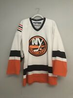 New York Islanders Vintage Authentic Reebok Blank Jersey Size Men's 48