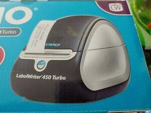 Dymo LabelWriter 450 Thermal Label Barcode Printer Receipt USB Win Mac