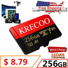 64GB 128GB 256GB Memory Card Class10 Flash TF for Phone Camera with Adapter