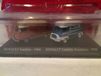 RENAULT ESTAFETTE ET ESTAFETTE ASSISTANCE 1968 SCALE 1/87 UNIVERSAL HOBBIES