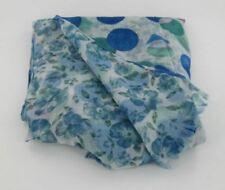Bufandas y pañuelos de mujer de color principal azul de talla única