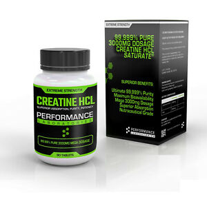 CREATINE HCL TABLETS - STRONGEST & MOST ABSORBENT CREATINE CAPSULES AVAILABLE