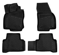 Gummimatten für VW Touran 2 5T ab 2015- Gummi Fußmatten 4 teilig 3D Schalen Qual