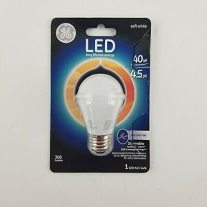 Ge 40w Soft White Dimmable Ceiling Fan LED A15 bulb 300 lumens 89986