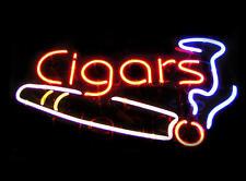 "New Cigars Shop Open Beer Neon Light Sign 20""x16"""