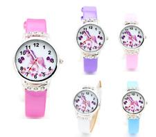 Crystal Gem Unicorn Wrist Watch Cartoon Pony Horse Girls Ladies Children Gift