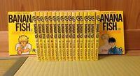 BANANA FISH 1-19 Comic Complete Set Akimi Yoshida Japanese manga book