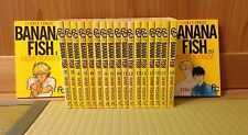 BANANA FISH 1-19 Comic Complete Set Akimi Yoshida Japanese manga book