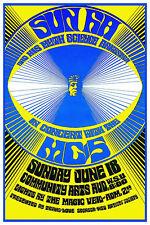 Sun Ra & His Myth Science Arkestra Concert Poster