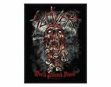 SLAYER world painted blood 2009   - WOVEN SEW ON PATCH - free shipping