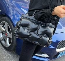 Zibellini Embossed Alta Moda PU Leather Black Handbag