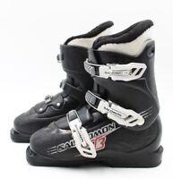 Salomon T3 Youth Ski Boots - Size 8.5 / Mondo 26.5 Used