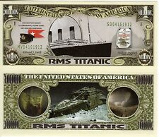 RMS Titanic Million Dollar Novelty Money