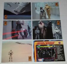 Star Wars Trilogy Cards Serie Completa Merlin Ed. Italia