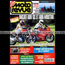MOTO REVUE N°3127-b DUCATI 600 SS MOSTRO KAWASAKI GTR 1000 SUZUKI 250 RMX SARRON