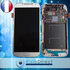 Ecran vitre complet sur chassis pour Samsung Galaxy S4 i9505 Blanc