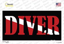 Scuba Diver Sticker Decal