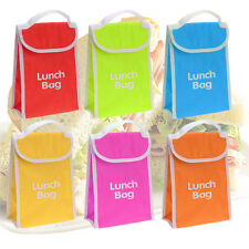 Thermal Cooler Lunch Bag Insulated Kids Office Hot Cold Food Portable School