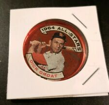 1964 **DICK GROAT** ALL STARS! ST. LOUIS CARDINALS #147 TOPPS COIN! USED.