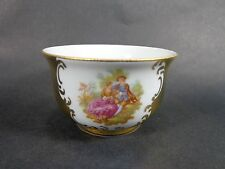 Bavaria Germany Courting Couples Jewelry or Sugar Cup Gold 22K