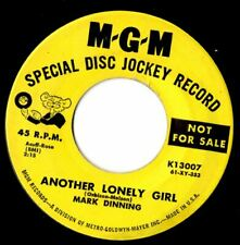 Mark Dinning Another lonely girl  Northern soul popcorn