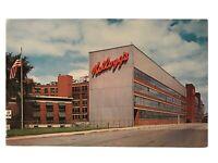 Kellogg Company, Battle Creek, Michigan MI Postcard - Kellogg's Cereals
