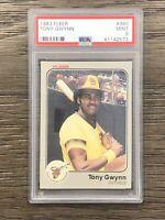 1983 Fleer Tony Gwynn Rookie Card RC #360 PSA 9 Padres MINT