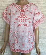 100% Cotton Vintage Tunic/Kaftan Tops & Shirts for Women