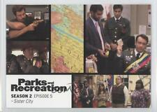 2013 Press Pass Parks and Recreation Seasons 1-4 #11 Sister City Card 2a1