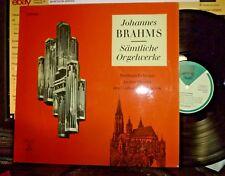 BRAHMS Samtliche Orgelwerke, WOLFRAM REHFELDT LP EX/EX, PELCA (Swiss)
