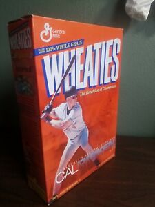 1995 MLB Cal Ripken Jr. Wheaties Box All time Iron man