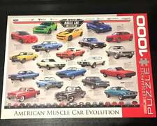 New 1000pc Jigsaw Puzzle American Muscle Car Evolution Eurographics Puzzle Car