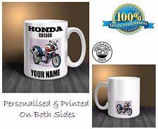 Honda CB1300 Motorbike Personalised Ceramic Mug Gift (MB060)
