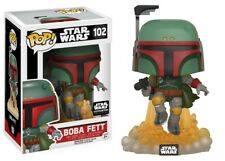 NEW Funko POP Star Wars Boba Fett Action Figure Exclusive Smuggler's Bounty