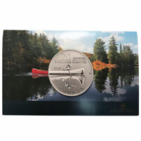 Canada 2011 $20 for $20 Canoe Silver Coin