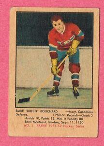 1951-52 51-52 1951 PARKHURST Set Break Pick From List  #1 to 105