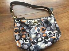 Coach Madison : Graphic Multi Color- Op Art Sabrina - Mini Hand Bag - Chique!