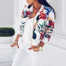 AYEUNGA Plus Size Spring Women's Jackets Retro Floral Printed Coat Female Long S